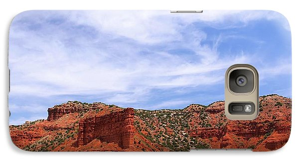 Galaxy Case featuring the photograph Caprock Canyons State Park by Elizabeth Budd