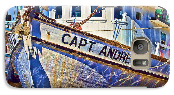 Capt Andrew Shrimper Galaxy S7 Case by Bill Barber
