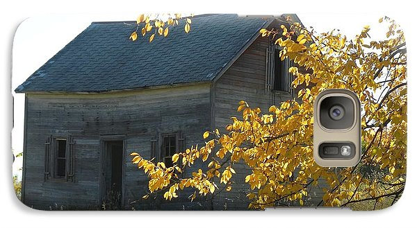 Galaxy Case featuring the photograph Captain Ed's Homestead by Penny Meyers