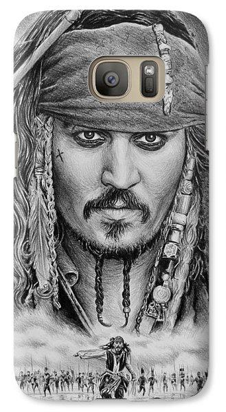 Captain Jack Sparrow Galaxy S7 Case