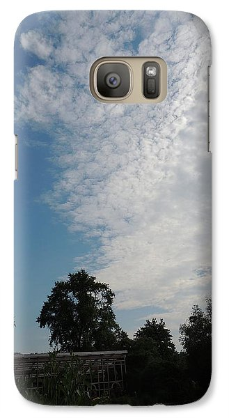 Galaxy Case featuring the photograph Captivating Sky by Teresa Schomig