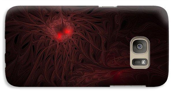 Galaxy Case featuring the digital art Captive Soul by GJ Blackman