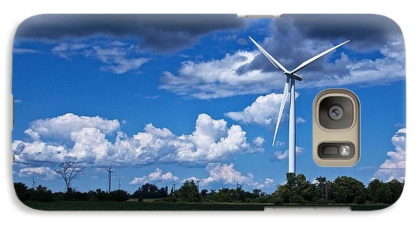 Galaxy Case featuring the photograph Capture The Wind by Dave Files