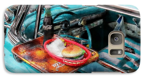 Vintage Car Galaxy Case featuring the photograph Car Side  by Aaron Berg