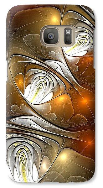 Galaxy Case featuring the digital art Carefree by Anastasiya Malakhova