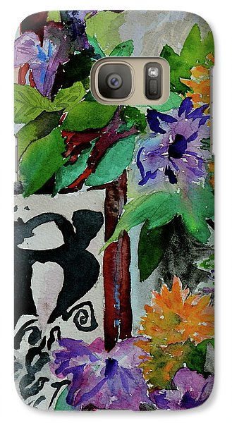 Galaxy Case featuring the painting Carefree by Beverley Harper Tinsley