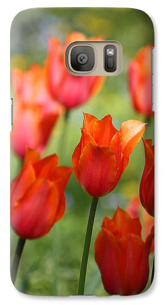 Galaxy Case featuring the photograph Caressed By The Wind by The Art Of Marilyn Ridoutt-Greene