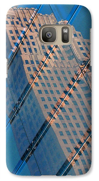 Galaxy Case featuring the photograph Carew Tower Reflection by Rob Amend
