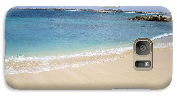 Galaxy Case featuring the photograph Caribbean Beach Front by Fiona Kennard