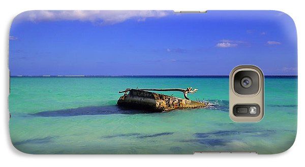 Galaxy Case featuring the photograph Caribbean Colors  by Eti Reid