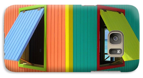 Galaxy Case featuring the photograph Caribbean Corner 4 by Randall Weidner