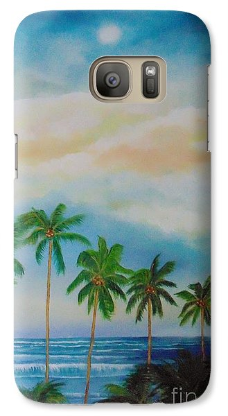 Galaxy Case featuring the painting Caribbean Dream by Nereida Rodriguez