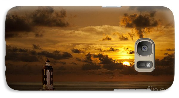 Galaxy Case featuring the photograph Caribbean Lighthouse by Shirley Mangini