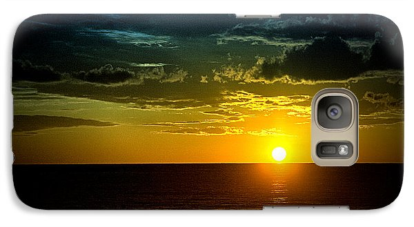 Galaxy Case featuring the photograph Caribbean Sunset ... by Chuck Caramella