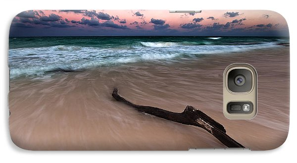 Galaxy Case featuring the photograph Caribbean Sunset by Mihai Andritoiu