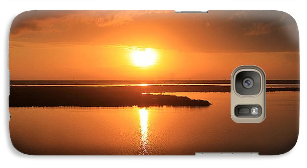Galaxy Case featuring the photograph Caribbean Sunset by Milena Ilieva