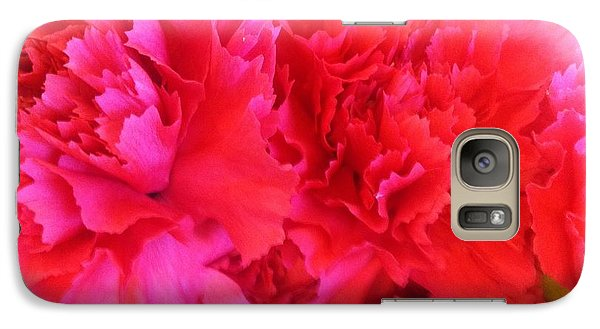 Galaxy Case featuring the photograph Carnation  by Alohi Fujimoto