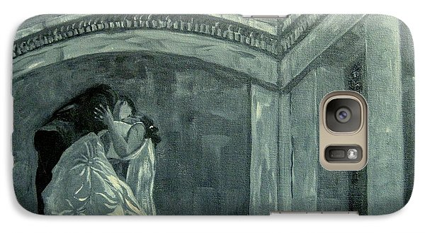 Galaxy Case featuring the painting Carlos Wedding by Gretchen Allen