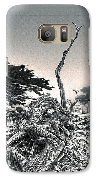 Galaxy Case featuring the painting Carmel by Gregory Dyer