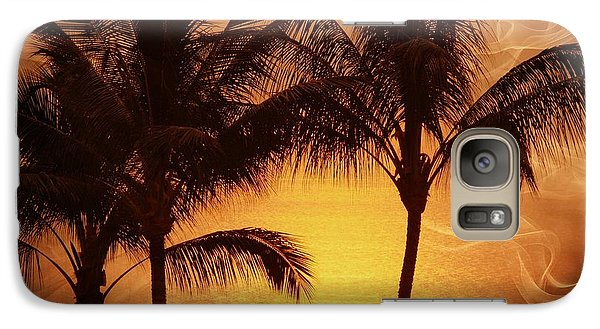 Galaxy Case featuring the photograph Carmel Sunset by Athala Carole Bruckner