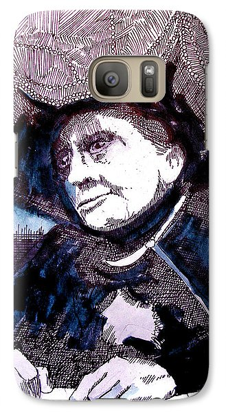Carnak Tribute To Johnny Carson Galaxy Case by Seth Weaver