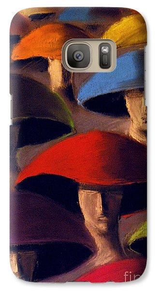 Carnaval Galaxy S7 Case by Mona Edulesco