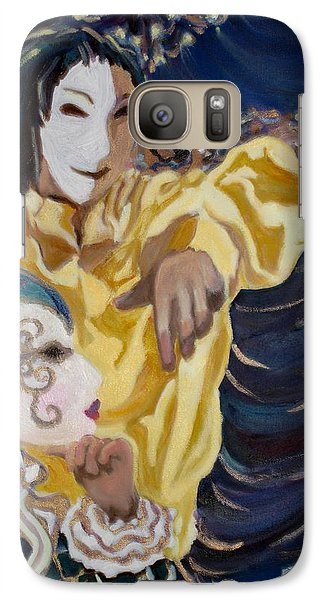Galaxy Case featuring the painting Carnevale Venezia by Julie Todd-Cundiff