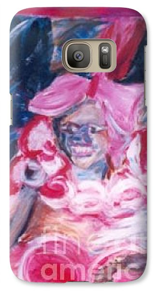 Galaxy Case featuring the painting Carnival Queen by Fereshteh Stoecklein