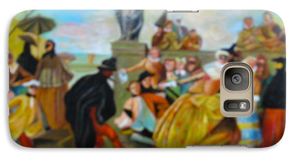 Galaxy Case featuring the painting Carnival Of Venice by Egidio Graziani