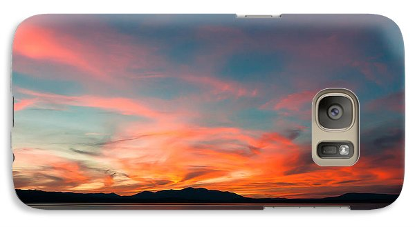Galaxy Case featuring the photograph Carnival Sky by Jan Davies
