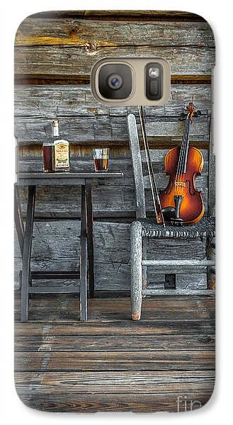 Galaxy Case featuring the photograph Carolina Fiddl'n by Marion Johnson