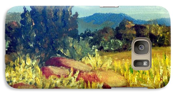 Galaxy Case featuring the painting Carolina Foothills by Jim Phillips