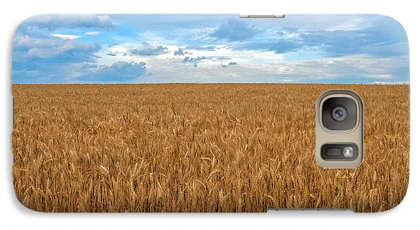 Galaxy Case featuring the photograph Carolina Wheat Field by Marion Johnson