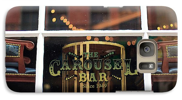 Galaxy Case featuring the photograph Carousel Bar by Heather Green