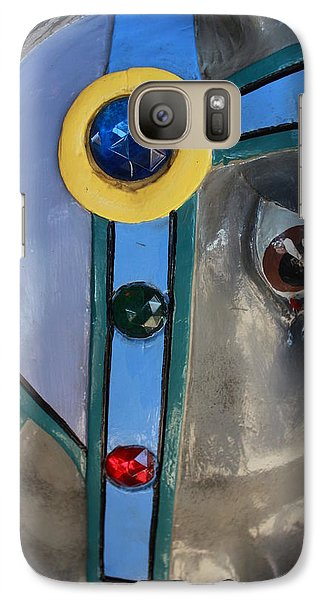 Galaxy Case featuring the photograph Carousel Horse by Diane Alexander