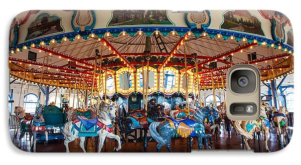 Galaxy Case featuring the photograph Carousel Ride by Jerry Cowart