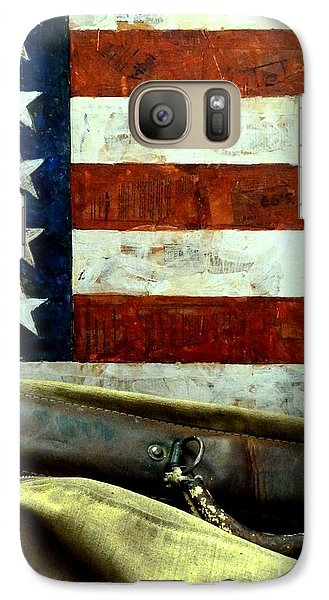Galaxy Case featuring the photograph Carpetbagger by Newel Hunter