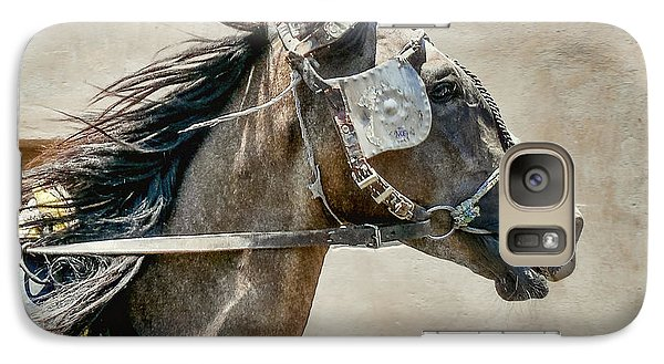 Galaxy Case featuring the photograph Carriage Horse by Susi Stroud