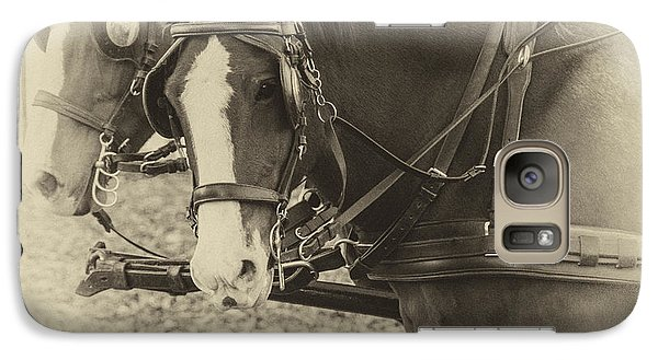 Carriage Horses II Galaxy S7 Case