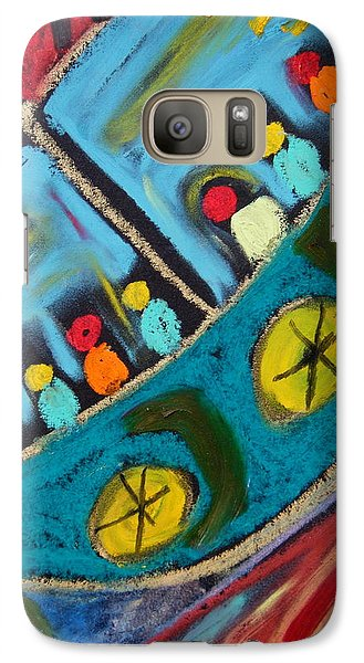 Galaxy Case featuring the painting Carried by Clarity Artists
