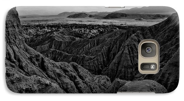 Galaxy Case featuring the photograph Carrizo Badlands Bw Nov 2013 by Jeremy McKay
