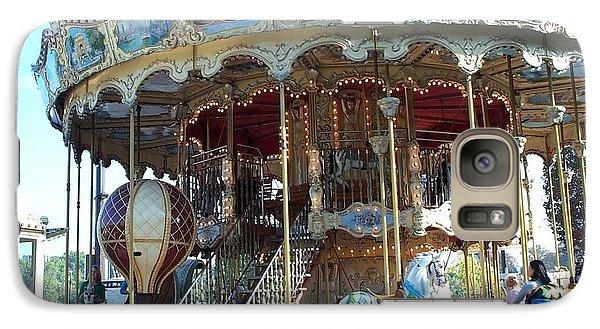 Galaxy Case featuring the photograph Carrousel De Paris by Barbara McDevitt