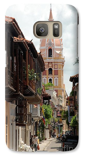 Galaxy Case featuring the photograph Cartagena by Jola Martysz