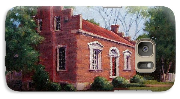 Galaxy Case featuring the painting Carter House In Franklin Tennessee by Janet King