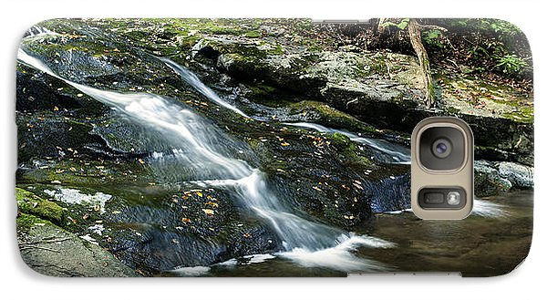 Galaxy Case featuring the photograph Cascade 3 by David Lester