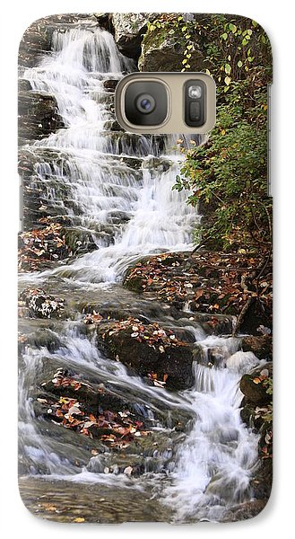 Galaxy Case featuring the photograph Cascade At High Falls Creek Near Mount Cheaha Alabama by Mountains to the Sea Photo
