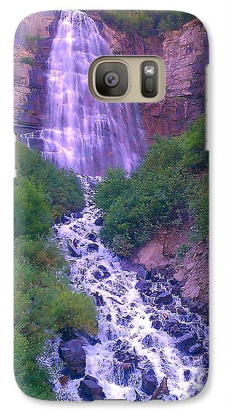 Galaxy Case featuring the photograph Cascade by Chris Tarpening