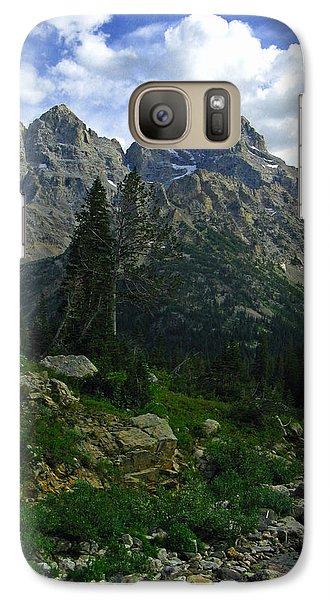 Galaxy Case featuring the photograph Cascade Creek The Grand Mount Owen by Raymond Salani III
