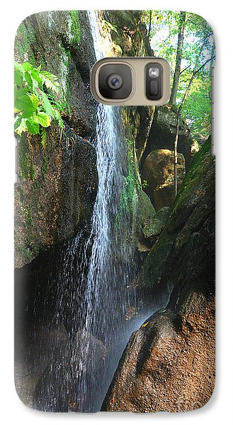 Galaxy Case featuring the photograph Cascade Falls by Lila Fisher-Wenzel