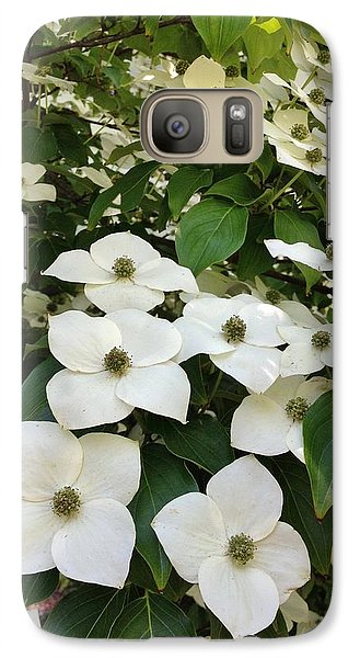 Galaxy Case featuring the photograph Cascade by Jean Goodwin Brooks